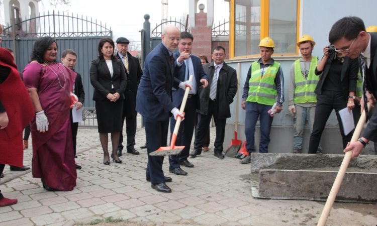 Groundbreaking of New Forensics Lab – Laying the Foundation For Enhanced Rule of Law