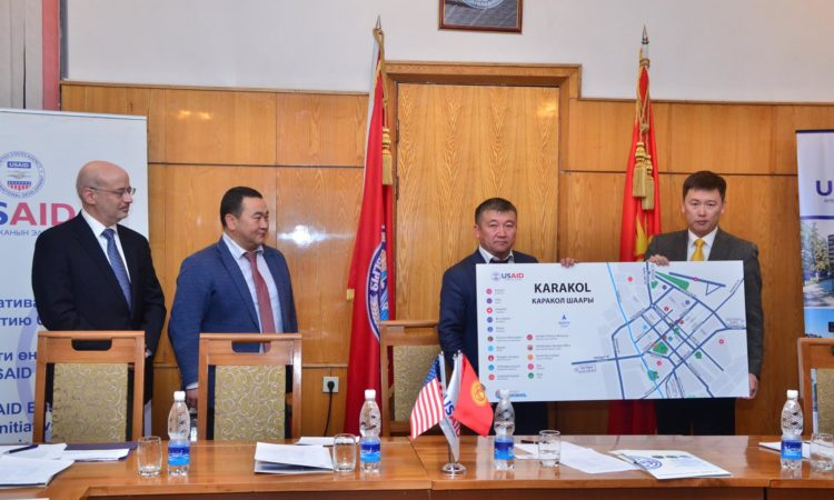 New Road Signs and Maps Improve the Tourism Experience in Issyk-Kul
